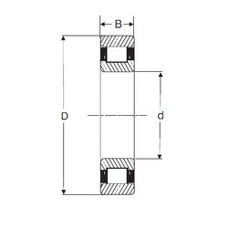 100 mm x 180 mm x 34 mm  SIGMA N 220 cylindrical roller bearings