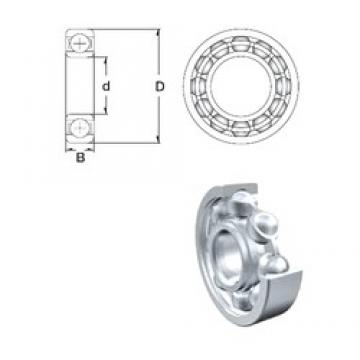 40 mm x 52 mm x 7 mm  ZEN S61808 deep groove ball bearings