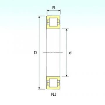 140 mm x 300 mm x 102 mm  ISB NUP 2328 cylindrical roller bearings