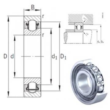 12 mm x 32 mm x 10 mm  INA BXRE201 needle roller bearings